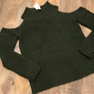NWT Boutique Choies Green Knit Sweater Size L